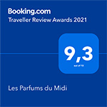 Guest Review Awards 2018 - 9,2/10 - Booking.com